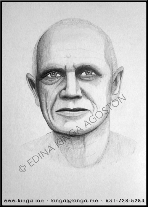 Steven Berkoff by Kinga